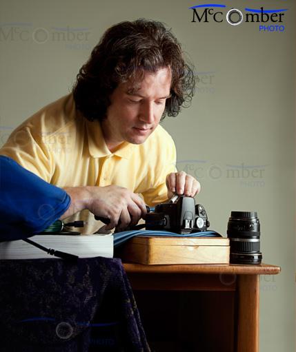 Le photographe d'après Vermeer