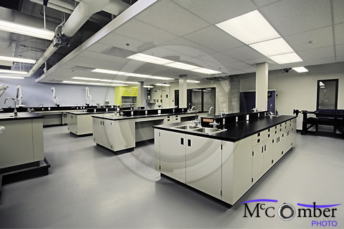 Chemistry school lab