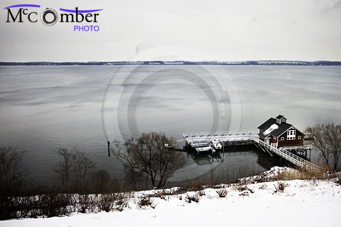 Boathouse by Seneca Lake