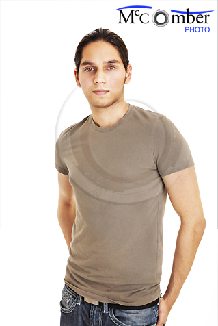 Young Indian man in t-shirt