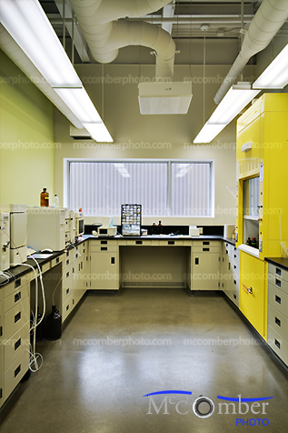 Small chemistry lab HDR