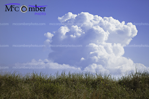 Stock photo: Cumulonimbus cloud forming