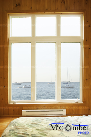 Window to sea paradise