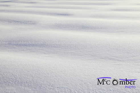 Pristine snow background