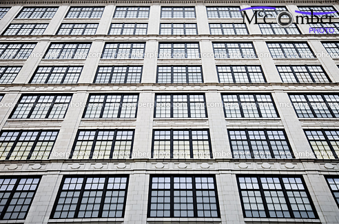 Office building windows in NYC