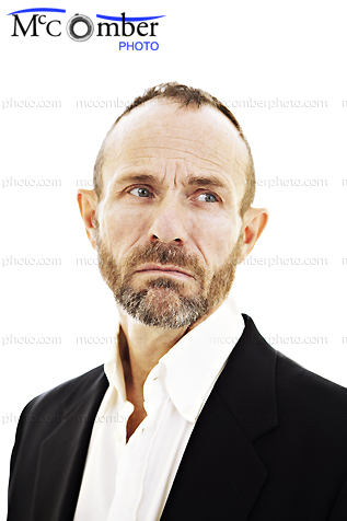 Stock photo: Mature man with tears in his eyes