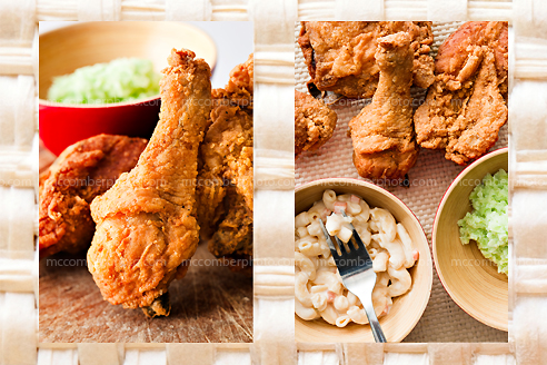 Stock Photo Gallery: Fried Chicken and sides