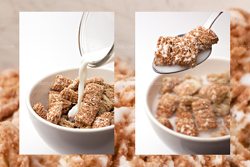 Stock Photo Gallery: Frosted Wheat morning cereal