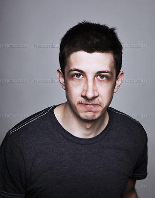 Stock Photo: The Angry Young Man