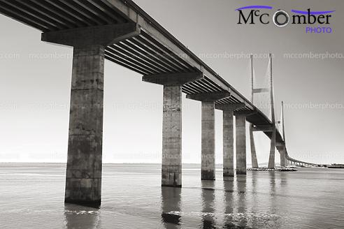 Stock photo: Sydney Lanier Bridge from underneath