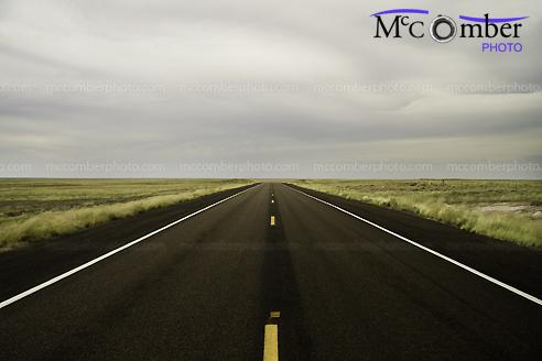 Stock photo: Open Road in Arizona