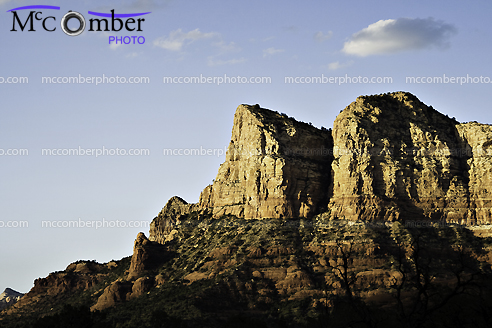 Featured Stock Photograph - Red Rocks Cliff near Sedona