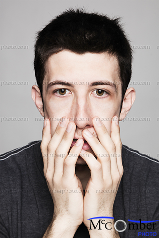 Featured Stock Photograph - Dismayed Young Man
