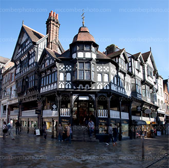 Chester Eastgate row / bridge street corner