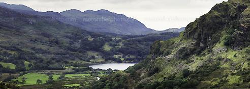 Stock Photograph: Snowdonia Panorama