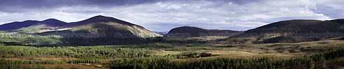 Stock Photograph: Cairngorms National Park Panorama