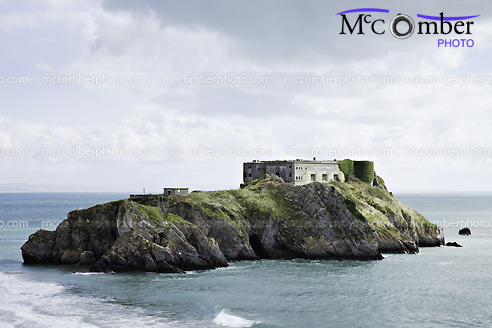Stock Photograph - Tenby's St Catherine Island