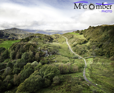 Stock Photograph: Winding trail in Snowdonia