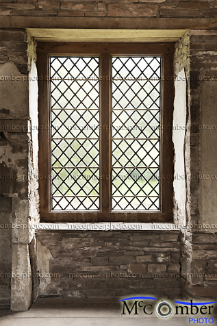 Stock Photograph - Rectangular Medieval Window