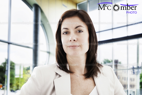 Stock Photo - Quiet Corporate Female Power