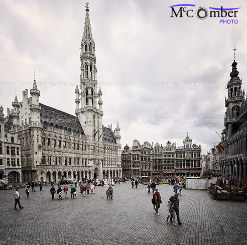 Editorial Stock Photo - Brussels Grand Place
