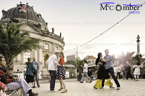 Editorial Stock Photograph - Dancing in Berlin