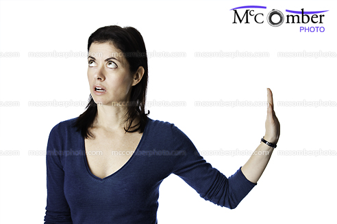 Stock Photo - Talk to The Hand