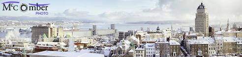 Stock Photo: Panoramic skyline in winter
