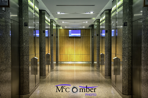 Stock Photo - Elevator lobby background